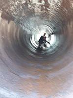 Дымовые трубы стальные промышленные высотой до 80 метров, диаметром до 2-х метров.