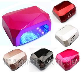 УФ лампа LED+CCFL – гібридна лампа для нігтів 36w
