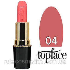 TopFace Губная помада Matte Lipstick матовая 04 rose natural