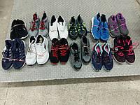 Сток фирменной спортивной обуви