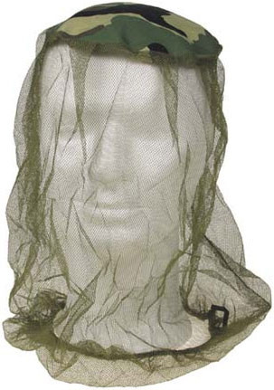 Москитная сетка на голову MFH Mosquito Head Net 10465