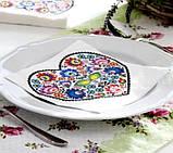 "Салфетки для декупажа ""Сердце из цветов"" 33*33 см №341, фото 3"