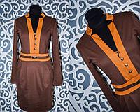 """Женское платье """"Французский трикотаж"""" 44 размер норма"""