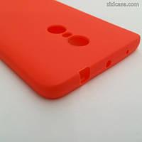 Матовый коралловый чехол для Xiaomi Redmi Note 4