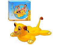 Плотик надувная  для плавания «Король Лев» 58520