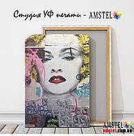 """Картина """"Мадонна"""". Ультрафиолетовая печать на холсте"""
