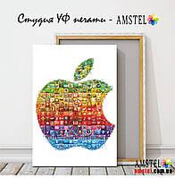 """Картина """"Коллаж apple"""". Ультрафиолетовая печать на холсте"""