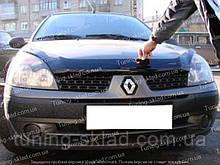 Дефлектор Рено Симбол 1 (мухобойка на капот Renault Symbol 1)