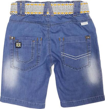 Бриджи для мальчика джинсовые ТМ Бемби ШР387 размеры  104 116 122 128 134, фото 2