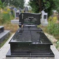 Памятник гранитный с надгробкой