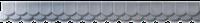 Форма для бетона.Форма конька черепица