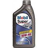 Моторное масло Mobil SUPER 2000 10W-40 10W-40, 1л