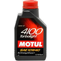 Моторное масло Motul 4100 TURBOLIGHT 10W-40