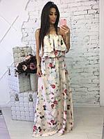 Нарядное женское платье в пол