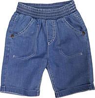 Шорты для мальчика  джинсовые ТМ Бемби ШР370 размеры  74 80 92 98 134 140