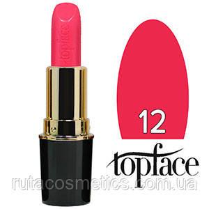 TopFace Губная помада Matte Lipstick матовая 12 bright pink