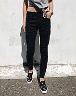 джинсы Resalsa 20607-3 джоггеры, молодежные стильные женские брюки, фото 1