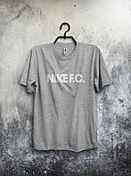 """Футболка мужская Nike """"F.C."""" (серая)"""
