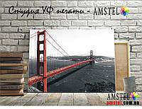 Интерьерная печать на холсте - мост в Сан Франциско (300x400 мм)