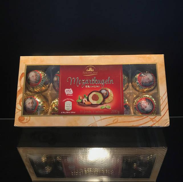 Конфеты с марципаном Mozartkugeln из Германии 200г