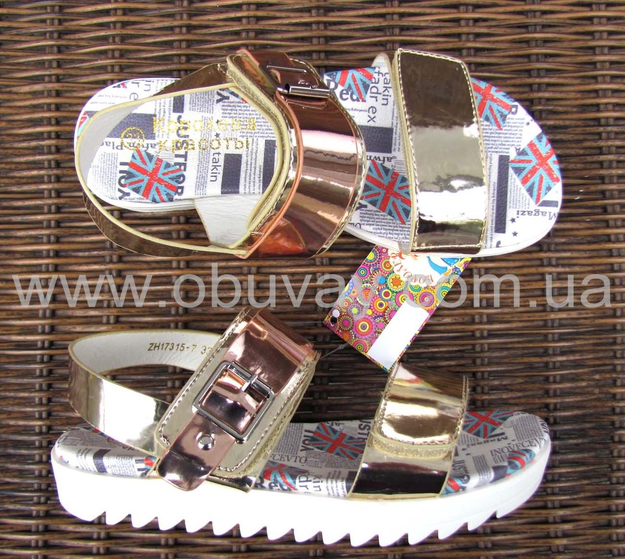 Детские босоножки B&G №ZH17315-7, фото 1