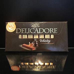 Шоколад палочками с виски Delicadore Whiskey 200г