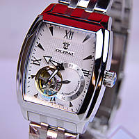 Мужские наручные часы OLIPAI JT7013 сапфир,механика с автоподзаводом