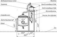 Установка для отримання ефірного масла 500 л