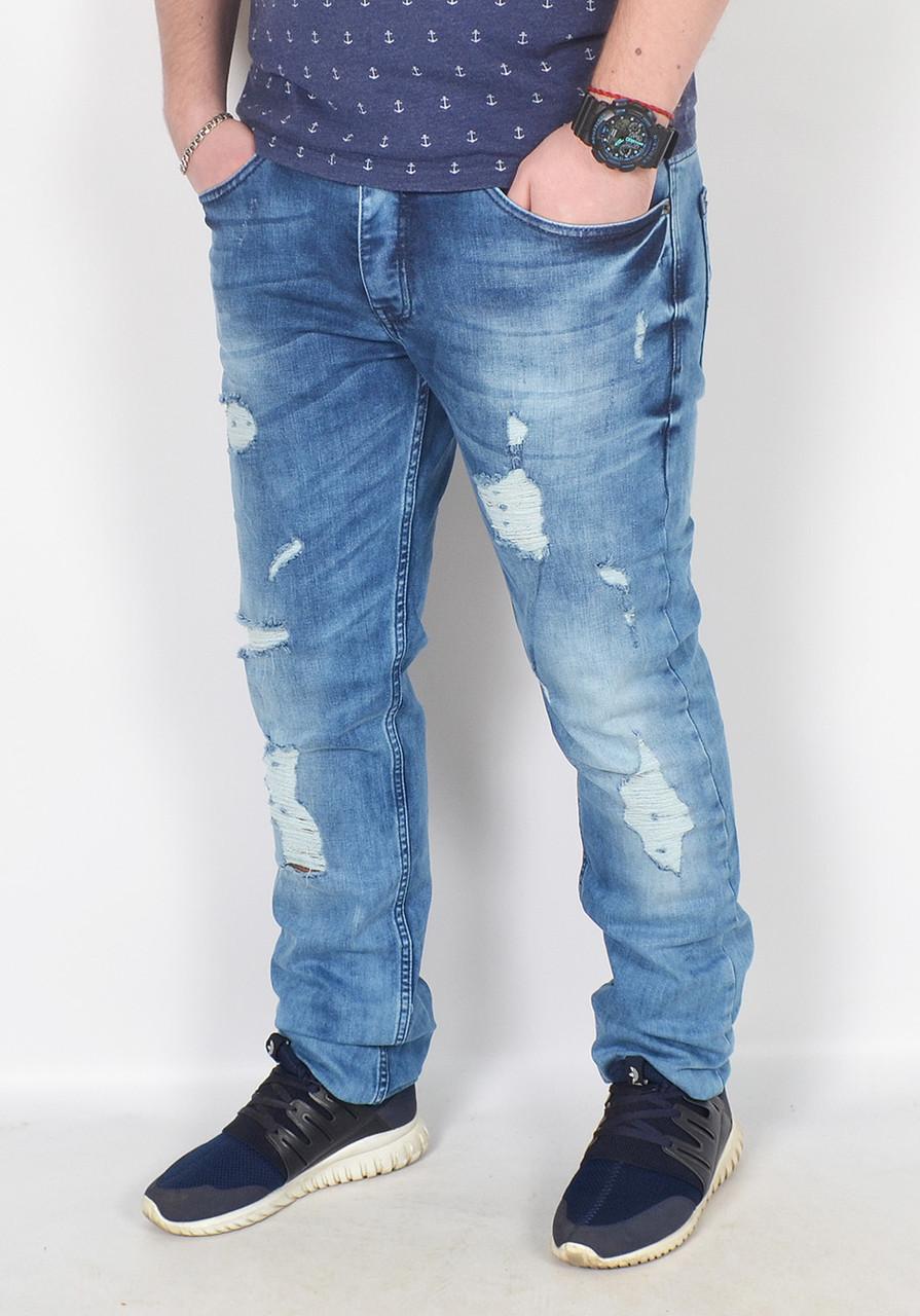 1cd31a41712 Купить Мужские рваные джинсы DIESEL - Турцию - модель 144-13 по ...
