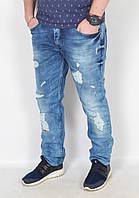 Мужские рваные джинсы DIESEL - Турция - модель 144-13