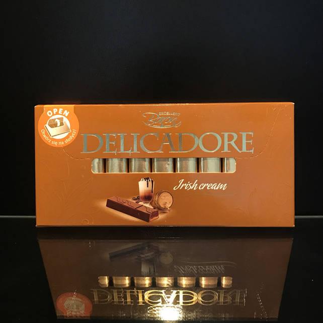 Шоколад палочками с ирландским кремом Delicadore Irish Cream 200г