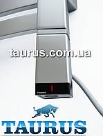 Серебряный электроТЭН профиль Трапеция 36х40: регулятор +таймер, под пульт ДУ. Серый. Польша