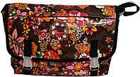Сумка молодежная из ПВХ Derby Артикул: 0270201,01 цветы