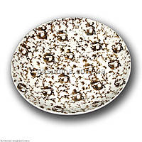 Тарелка фарфоровая Farn Siesta 230мм. Коричневый лео