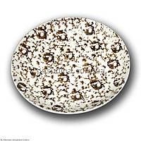 Тарелка фарфоровая Farn Siesta 250мм. Коричневый лео