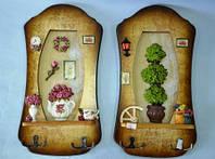 Панно с крючками, 37х17 см, Оригинальные подарки, Днепропетровск, фото 1