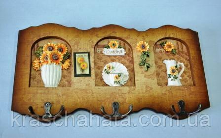 Панно с крючками, 34х18 см, Оригинальные подарки, Днепропетровск