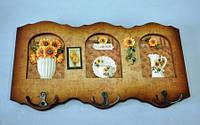Панно с крючками, 34х18 см, Оригинальные подарки, Днепропетровск, фото 1