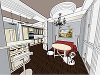 Воплощение фантазий в маленькой квартире.