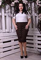Женская юбка большого размера к-t10151310