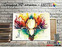 Картина Цветок акварель печать на Холсте Картины