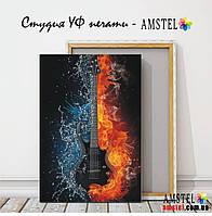 """Печать картин и фото на холсте 300х400, изображение """"Гитара"""""""