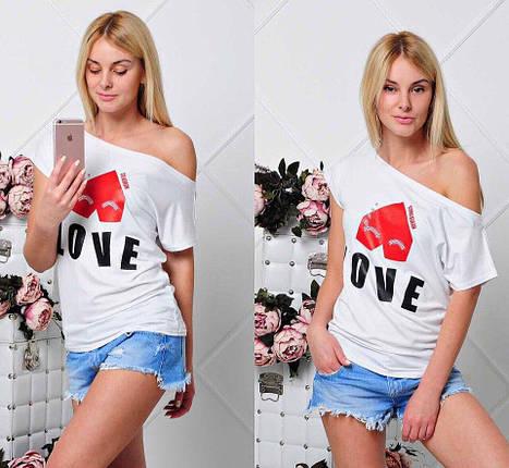 """Футболка """"Love"""", фото 2"""