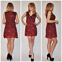Женское платье гипюровое к-24039