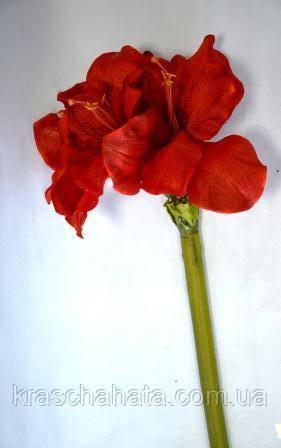 Амариллис, Н 116 см, Искусственные цветы, Днепропетровск