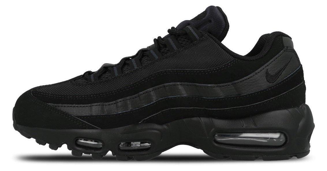 3b6cd0045c42 Кроссовки Nike Air Max 95 Triple Black (Найк Аир Макс 95, реплика ...