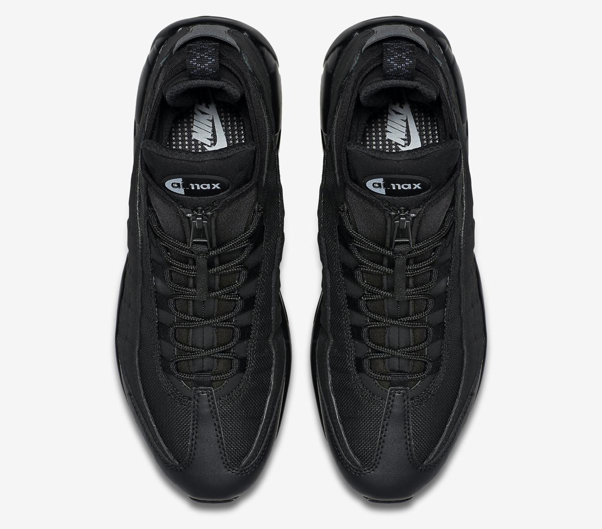 b196cb30055d ... Кроссовки Nike Air Max 95 Triple Black (Найк Аир Макс 95, реплика), ...
