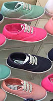Детские кеды для мальчиков и девочек оптом (резинка и шнурки) Размеры 24-29