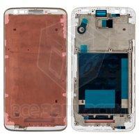 Рамка крепления дисплея для мобильных телефонов LG G2 D802, белая