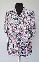 Блуза женская с шифоновыми рукавами